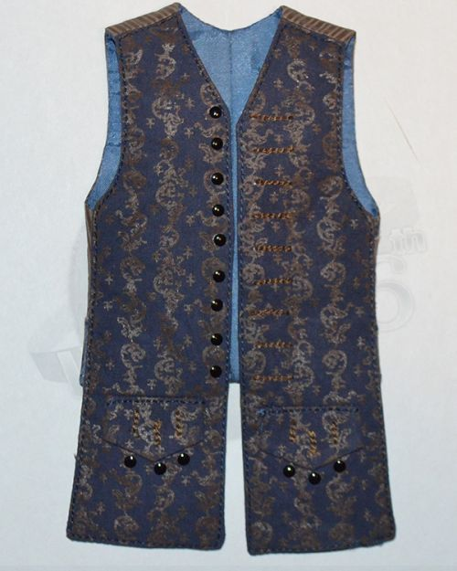 Third Party Pirates of the Carribean Jack Sparrow: Vest (Blue)
