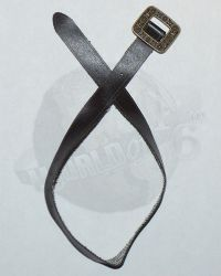 Third Party Pirates of the Carribean Jack Sparrow: Belt With Metal Buckle (Dark Brown)