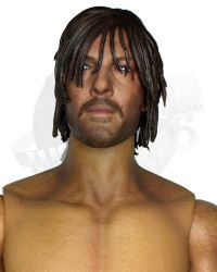 ThreeZero Toys Daryl Dixon From The Walking Dead: Figurebody With Headsculpt (With Hands, Footpegs, No Feet)