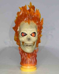 Hot Toya Ghost Rider Limited Edition Figure with Hellcycle: Headsculpt With Neckpost