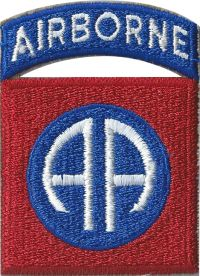 1:1 Scale 82nd Airborne Patch