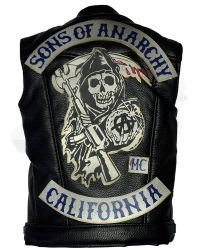 Pop Culture Shock Clay Morrow: Vest With SOA Rockers