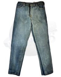 Pop Culture Shock Clay Morrow: Jean Trousers (Acid Washed Blue)