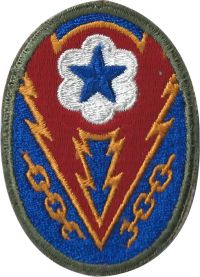 1:1 Scale ADSEC (The Advance Section, Communications Zone) Patch