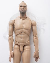 Art Figures Heavy Armored Special Cop: Figurebody With Headsculpt (Bald, Hands & Feet Included)