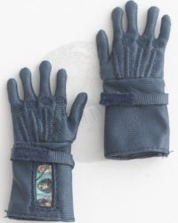 Art Figures Heavy Armored Special Cop Special Edition Blue: Combat Gloves (Blue)