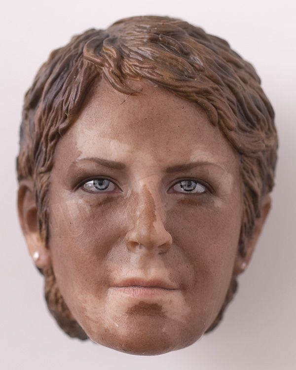 TWD Carol Female Character Set: Headsculpt (Bloodied Version)