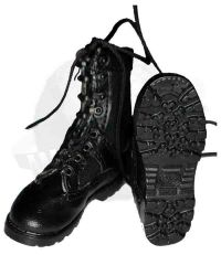 DamToys Navy Commanding Officer: Navy Boots (Black)