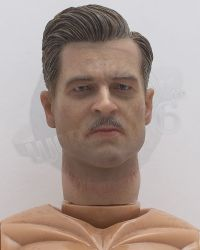 DID French Resistance Pierre: Figurebody With Headscupt (Brad Pitt Linkeness, Hands & Feet Included)