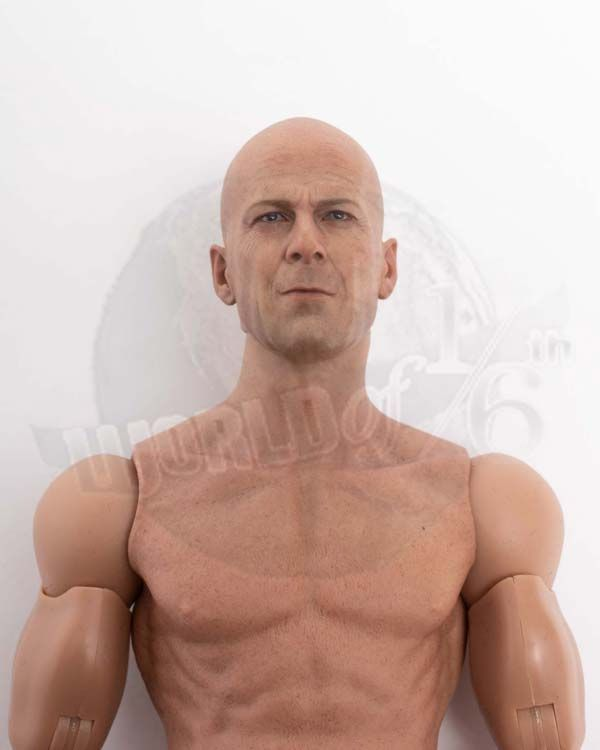 Hot Toys GI Joe Retaliation Joe Colton: Figurebody With Headsculpt (Bruce Willis Likeness, No Feet)