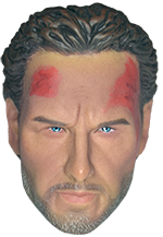 Redman Sheriff Casual Edition Package: Headsculpt (Bloodied)