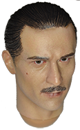 DiD Chicago Gangster II Robert: Robert Headsculpt (With Mustache)