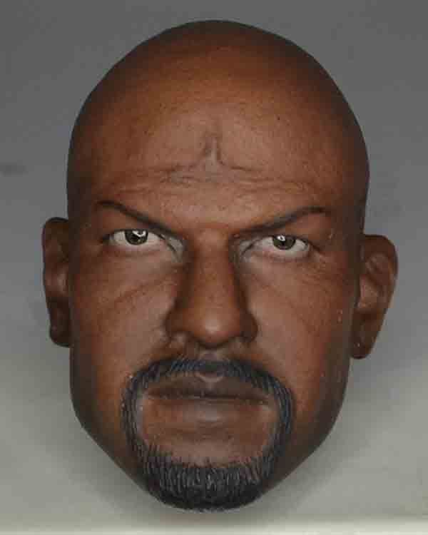 Kaustic Plastic Toys Terry Crews Headsculpt