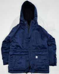 VTS Toys Darkzone Rioter: Overcoat With Hood (Navy Blue)