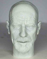 Custom Walter White Headsculpt Created by Trevor Grove