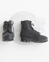 Toy Soldier Leather Tactical Short Boots