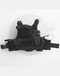 Toy Soldier Tactical Vest With Multiple Pouches