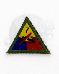 WWII US Army 7th Armored Tank Division Patch