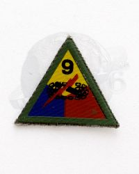 WWII US Army 9th Armored Tank Division Patch