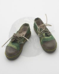 Camouflaged Tennis Sneakers