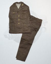 Rare & Hard To FindDiD WWII US Army Officer's Pink & Green Unifrom Jacket & Trousers