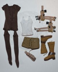 "Rare & Hard To FindBrother Production Contemporary Zombie Killer ""Alice"" Uniform"