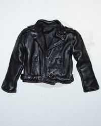 Rare & Hard To FindLeather Motorcycle Jacket (Black)