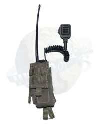 Very Hot Toys: Motorola Radio With Molle Pouch (OD)