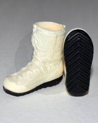 Modern Warfare Molded Mountain Boots With Black Sole (White)