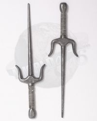 Metal Ninja Sai Swords