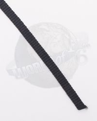 Webbing Strap (Black, Sold By The Foot)