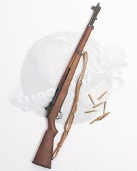 M1 Garand (Made With Real Wood & Metal, With Clip & 8 Rounds)