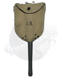 DiD WWII US 2nd Ranger Battalion Private First Class Reiben: M1943 Entrenching Tool with Carrier
