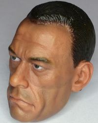 Art Figure Soldiers Of Fortune 3: Headsculpt (Jean Claude Van Damme Likeness)