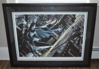 Alex Ross Batman: Knight Over Gotham City Limited Edition Print With Certificate of Authenticity