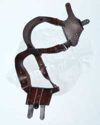 Brother Production Present Live Free Johnny: Worn Shoulder Holster (Brown)