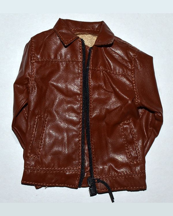Brother Production Present Live Free Johnny: Leather Jacket (Brown)