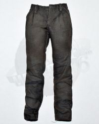 Brother Production Present Live Free Johnny: Worn Trousers (Gray)