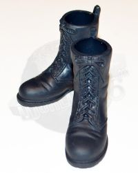 Dragon Models Ltd. Bad Boys: Tactical Rubber Altama Boots (Black)