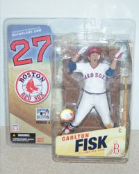 McFarlane Toys Cooperstown Collection Series 3; Boston Red Sox Carlton Fisk