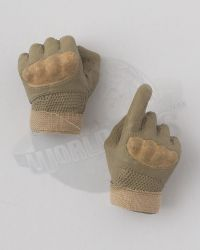 Flagset Toys US 75th Ranger Regiment In Afghanistan Revenge Team Member: Molded Gloved Set (Tan)