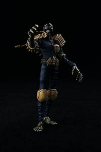 "3A 6.6"" Tall Action Figure 2000AD Judge Death"