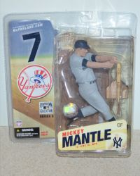 McFarlane Toys Cooperstown Collection Series 3: New York Yankees Mickey Mantle