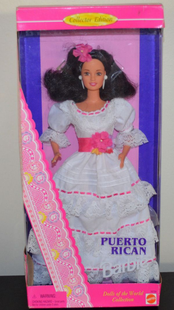 Mattel Toys Puerto Rican Barbie Doll