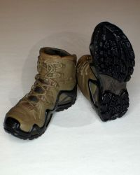 Mini Times US Navy SEAL Team Six: Salomon Quest 4D GTX Boots (Brown)