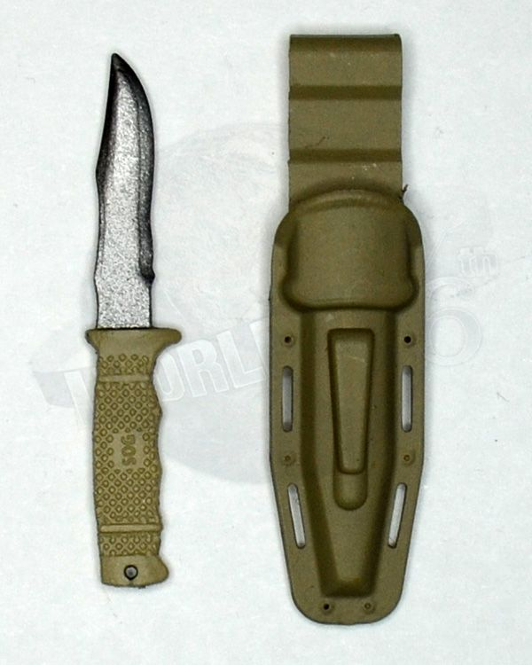 Mini Times US Navy SEAL Team Six: Tactical Knife & Sheath