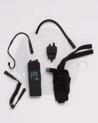 Mini Times CIA Armed Agents: AN/PRC 148 Radio With MBITR Radio With Earpiece & PTT & PRC 148 Radio Pouch