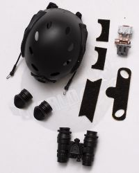 Mini Times CIA Armed Agents: FAST Maritime Helmet With AN/PVS-15 Night Vision Binocular