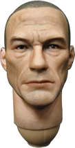 Play Toy The Terrorist: Headsculpt (Jean Claude Van Damme Likeness)