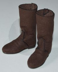 Pop Toys King Henry V of England: Fabric Boots (Brown)
